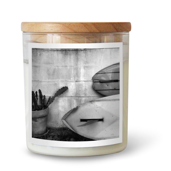 Single Fins Soy Candle