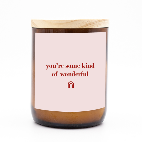 Happy Days Candle - Some Kind Of Wonderful - pink