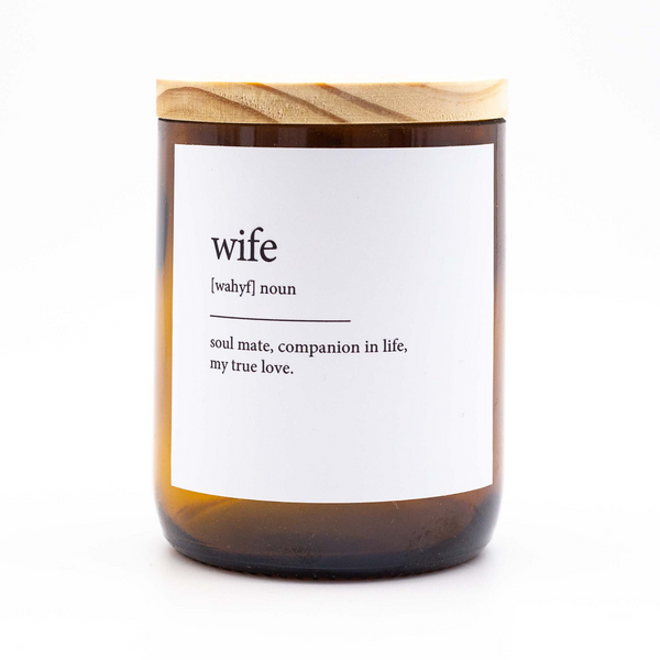 Dictionary Meaning Candle - wife