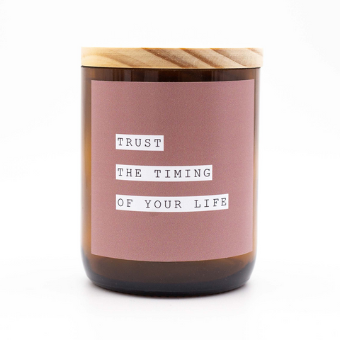 Happy Days Soy Candle - Trust the Timing