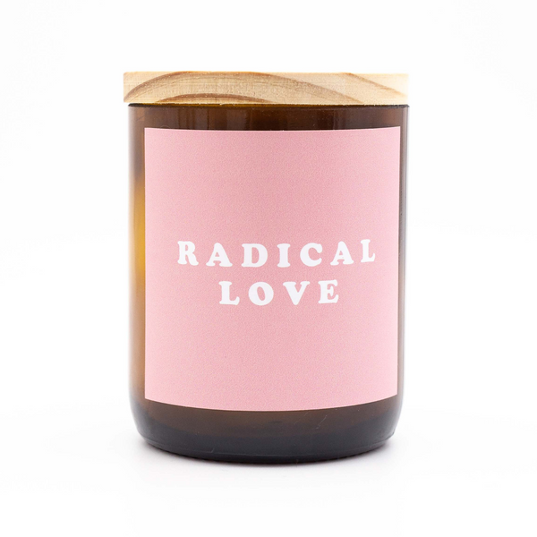 Happy Days Soy Candle - Radical Love