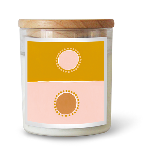 Two Suns Soy Candle by Natalie Jade