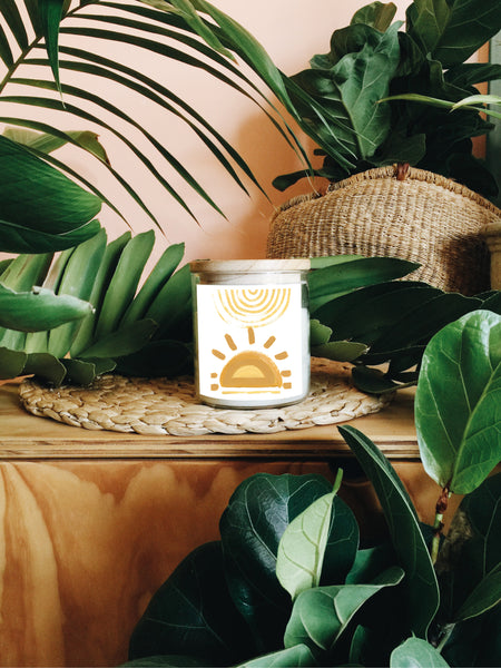 Under The Same Sun Soy Candle by Natalie Jade