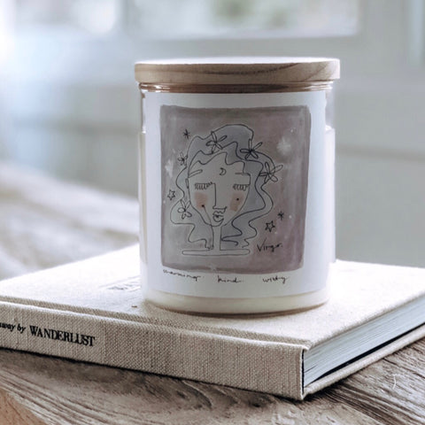 Zodiac Candle - Virgo
