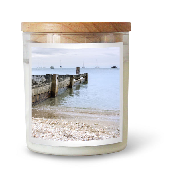 Seaside Pier Candle