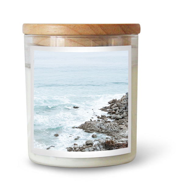 Seaside Rocks Soy Candle