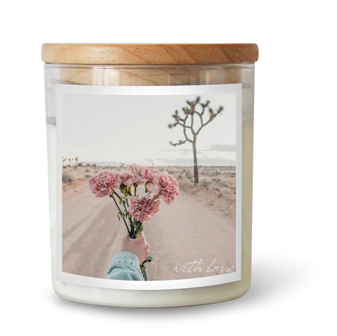 With Love Soy Candle
