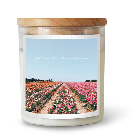 Grateful Heart Soy Candle