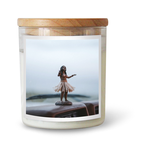 Hula Girl Candle