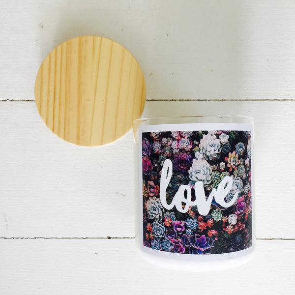 LOVE Soy Candle