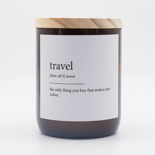 Dictionary Meaning Soy Candle - travel