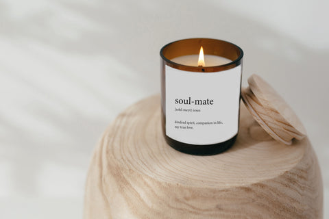 Dictionary Meaning Soy Candle - soul-mate