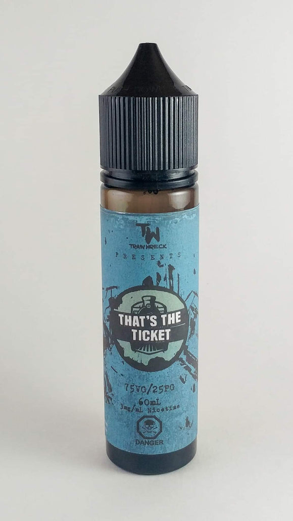 That's The Ticket - Train Wreck E-Juice