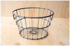 Metal Basket ~ Blue