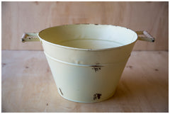 Butter Cream Wash Tub