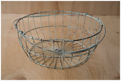 Egg Basket ~ Duck Egg Blue