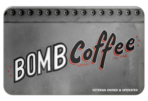 BOMB Coffee Gift Card