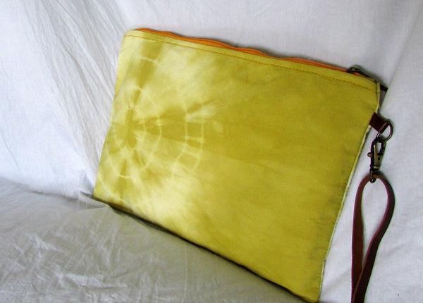 Limited Edition Natural Shibori Batik Clutch Bags | NC15
