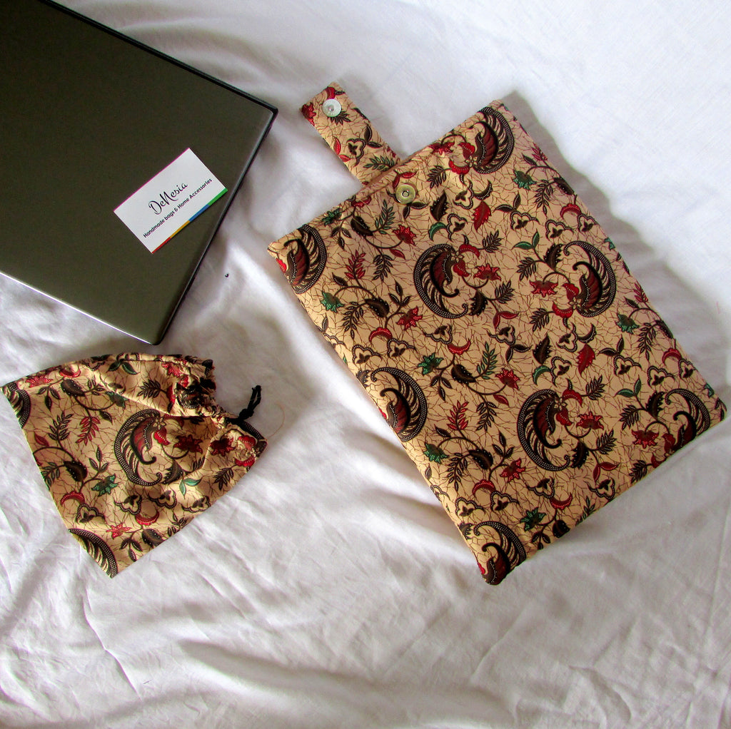 DeNesia's Ethnic Laptop Case/Laptop Sleeve | LS24