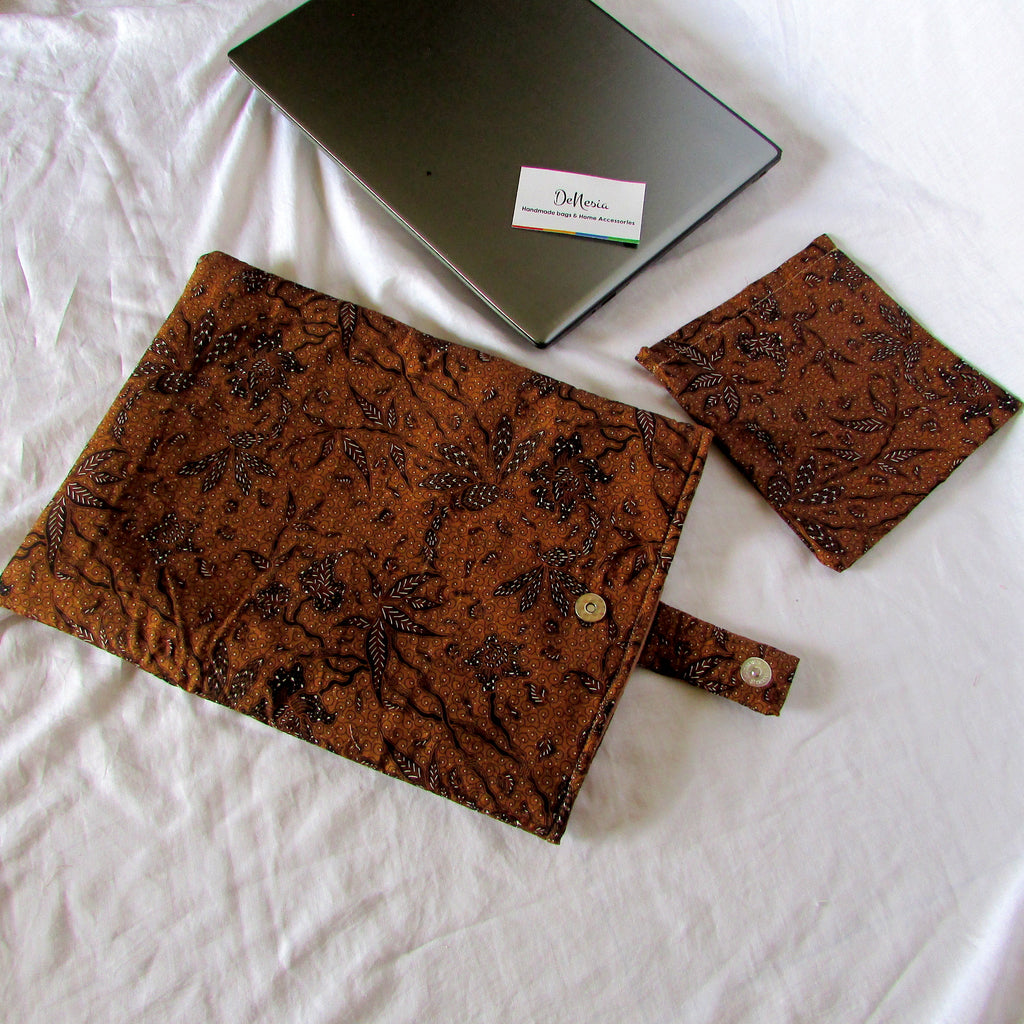DeNesia's Ethnic Laptop Case/Laptop Sleeve | LS25