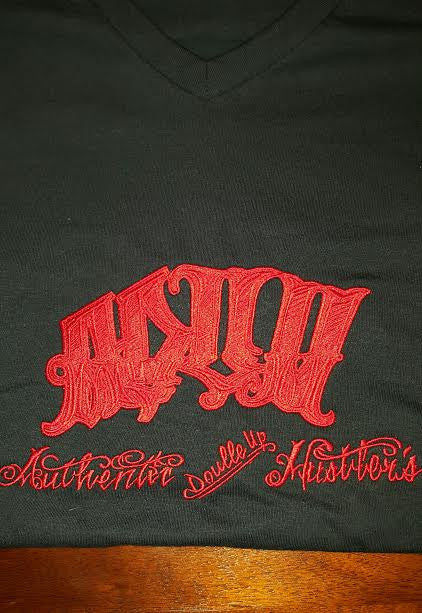 ADUH CLOTHING NEW EMBROIDERY V NECKS