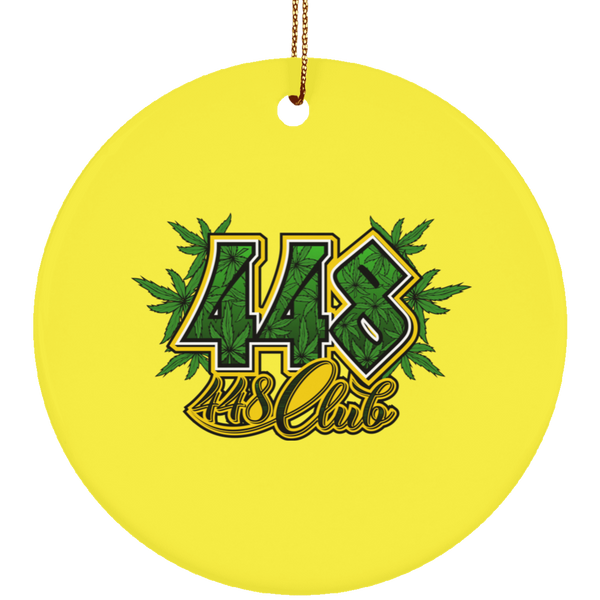 448 CLUB ORNAMENT (SUBORNC Ceramic Circle Ornament)