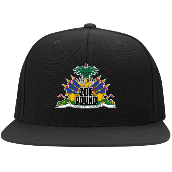 ZOE POUND HAT (STC19 Flat Bill High-Profile Snapback Hat