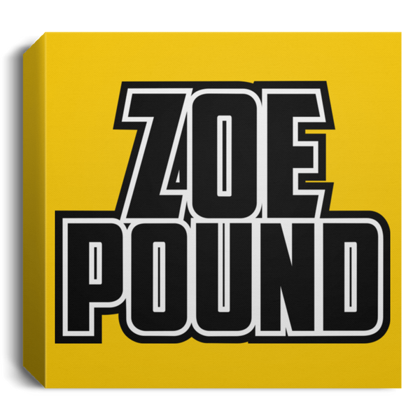 ZOE POUND (CANSQ15 Deluxe Square Canvas 1.5in Frame)