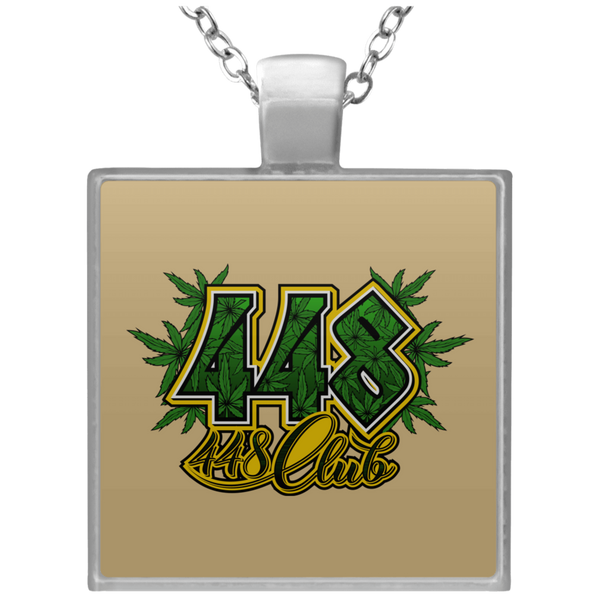 448 CLUB NECKLACE (UN4684 Square Necklace)