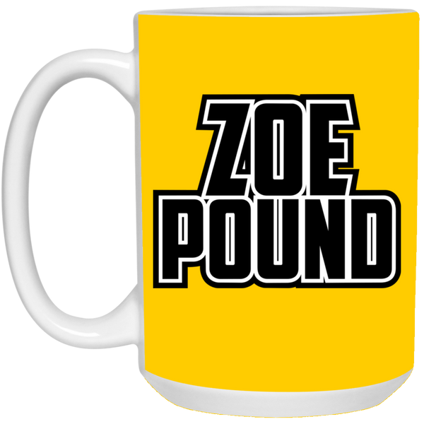ZOE POUND (21504 15 oz. White Mug)