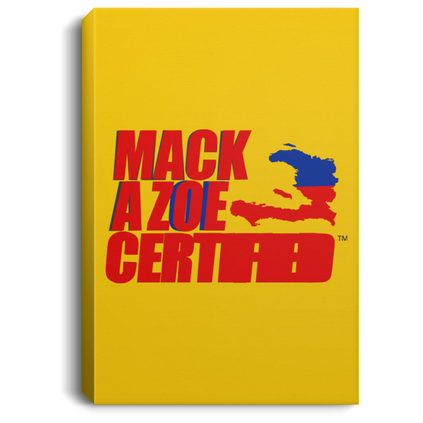 MACKAZOE CERTIFIED (CANPO75 Portrait Canvas .75in Frame).