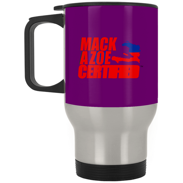 MACKAZOE CERTIFIED (XP8400S Silver Stainless Travel Mug)