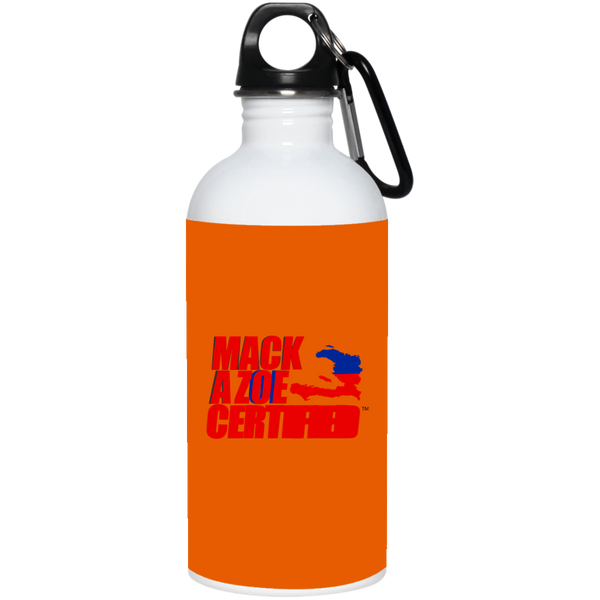 MACKAZOE CERTIFIED (23663 20 oz. Stainless Steel Water Bottle)