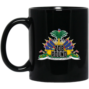 ZOE POUND (BM11OZ 11 oz. Black Mug)