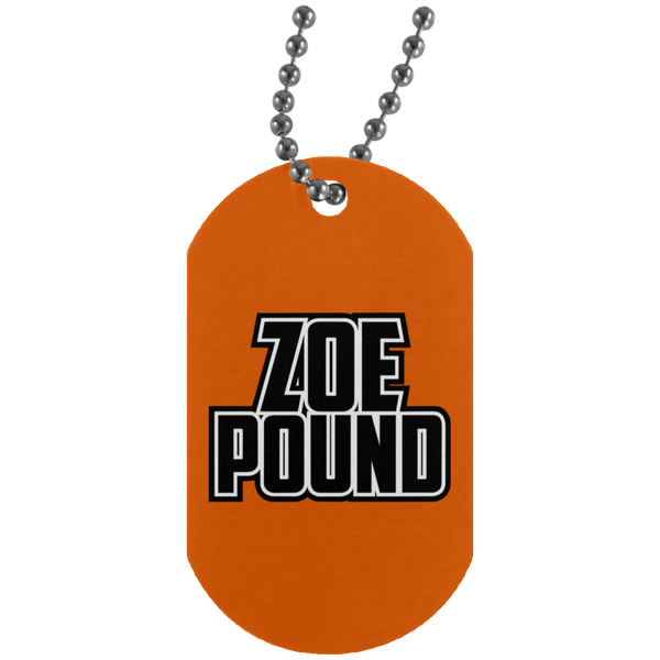 ZOE POUND (UN4004 Silver Dog Tag)
