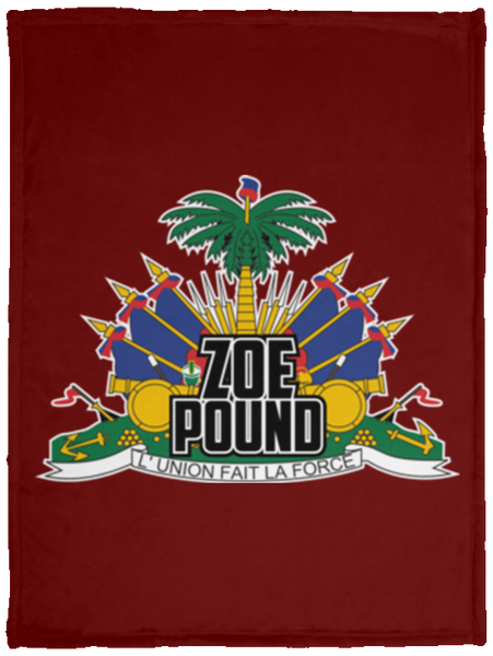ZOE POUND (VPS Cozy Plush Fleece Blanket - 30x40)
