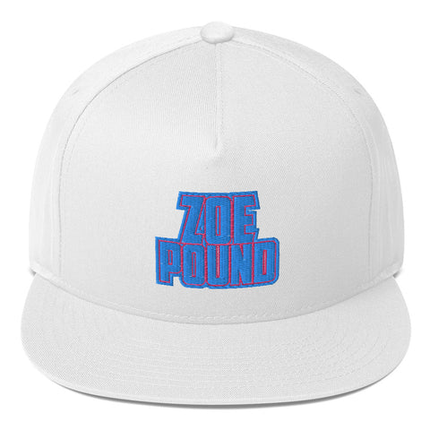 Flat Bill Zoe Pound Cap