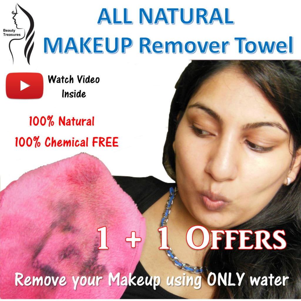 Premium MakeUp Eraser 100% Natural and Chemical Free