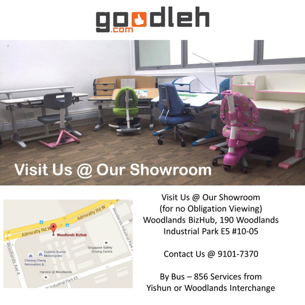 ErgoStudy Show Room Woodlands BizHub 190 Woodlands Industrial Park E5 #10-05 s757516
