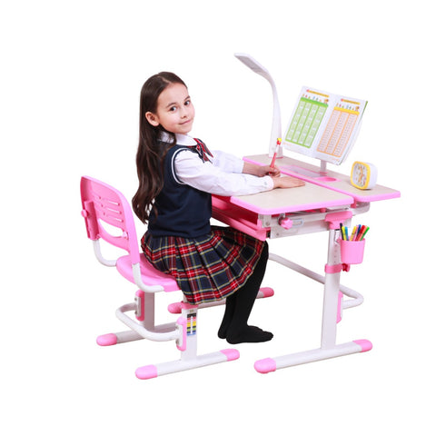 ErgoStudy Basic - EB Gen8 - 0.8m Children Ergonomic Study Table and Chair Set