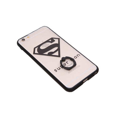 iPhone6 Super Hero Casing with Ring Holder and Stand