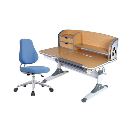 ErgoStudy - T120 - Children Ergonomic Study Table and Chair