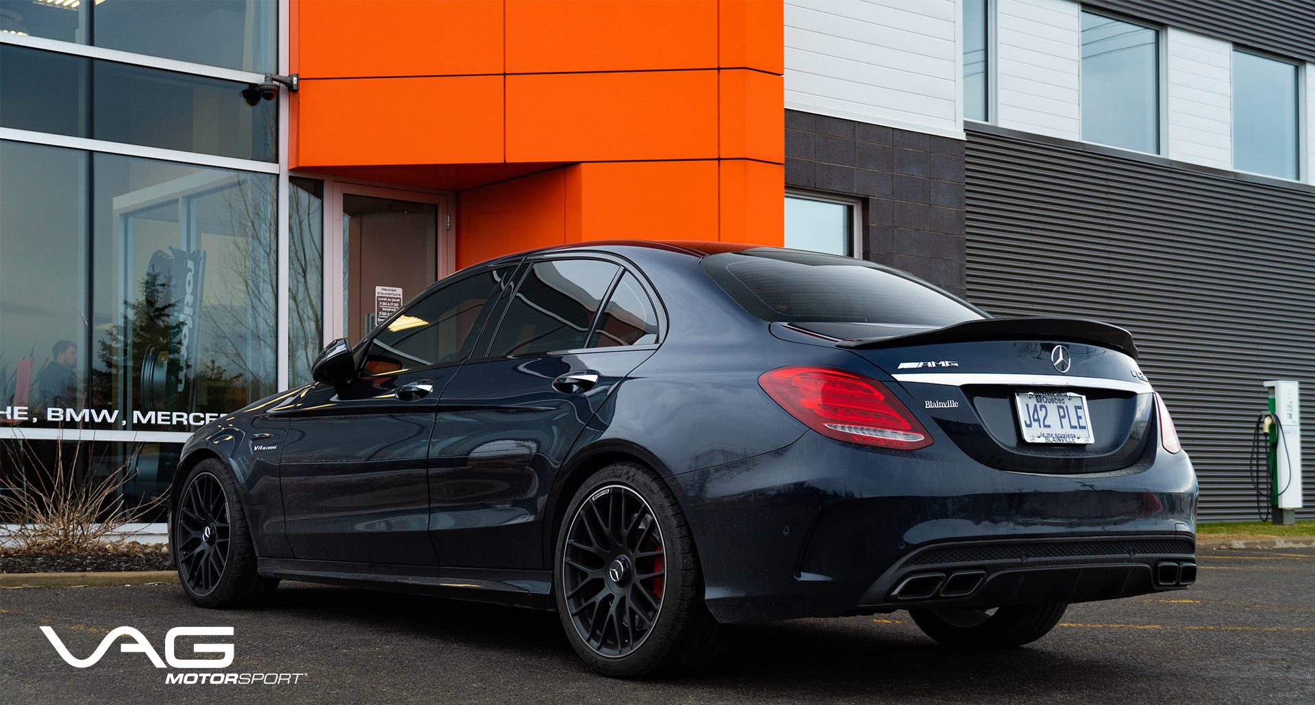 VAG Motorsport | Mercedes-AMG C63S Sedan x Yomato Carbon