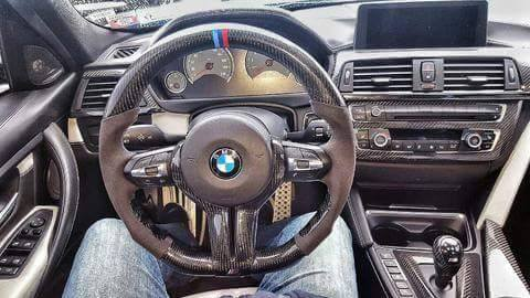 BMW F3X F8X M3 M4 CARBON STEERING WHEEL