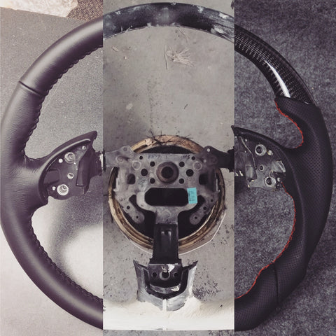 CUSTOM BESPOKE CARBON STEERING WHEEL