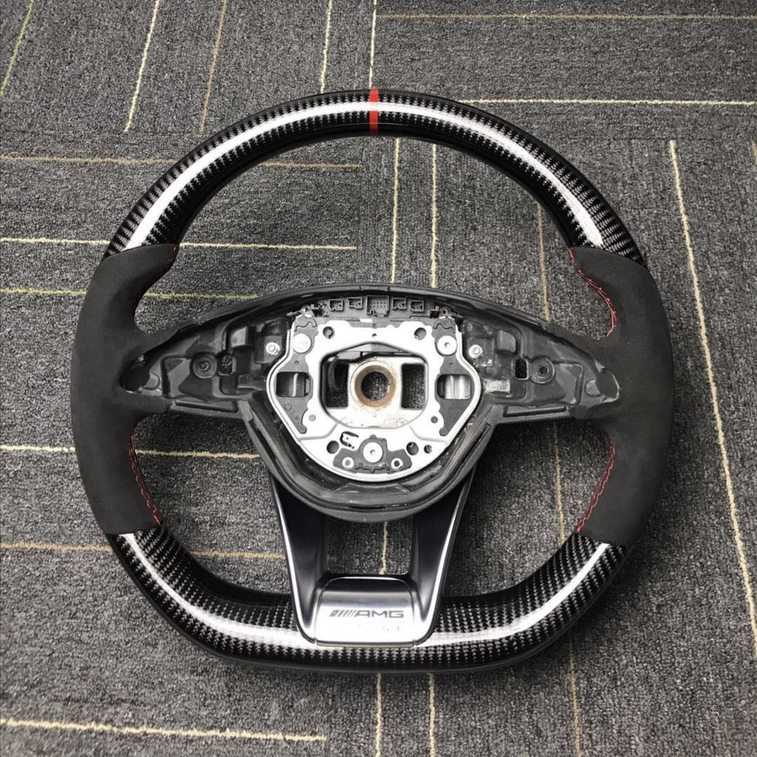 BESPOKE AMG PERFORMANCE STEERING WHEEL - Interior Accessories - Yomato Carbon - Montreal Canada