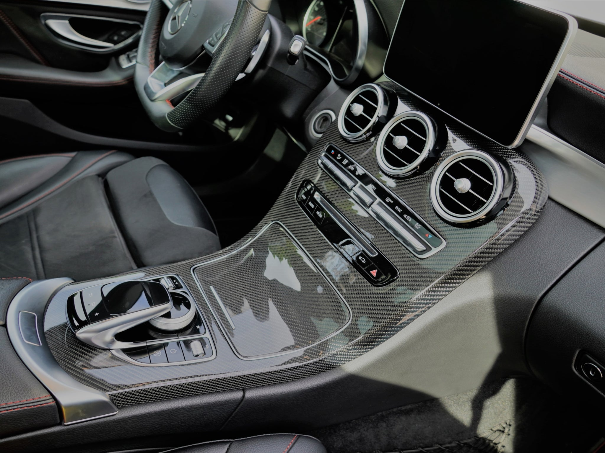 Center Console Replacements - Interior Accessories - Yomato Carbon - Montreal Canada
