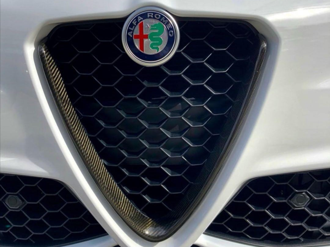 GIULIA V SHIELD COVER - Exterior Accessories - Yomato Carbon - Montreal Canada