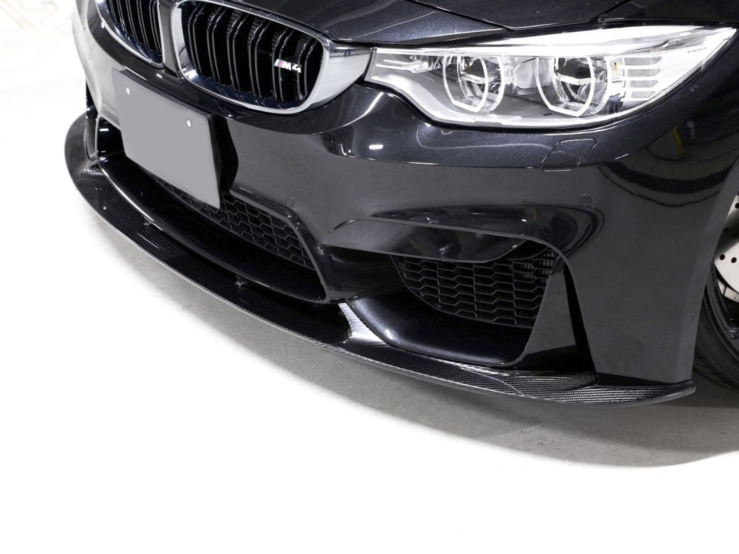 3D PERFORMANCE FRONT LIP -  - Yomato Carbon - Montreal Canada