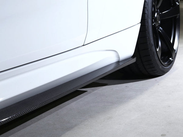 3D PERFORMANCE SIDE SKIRTS - Aerodynamics - Yomato Carbon - Montreal Canada